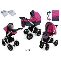 Carucior copii 3 in 1 Krasnal Nexxo N3