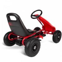 Kart cu pedale si roti gonflabile Gokart RK-593 Ricokids 759300 Rosu