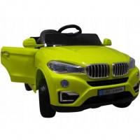 Masinuta electrica cu telecomanda si roti din spuma EVA Cabrio B12 KL-5188 R-Sport - Verde