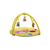 Salteluta de joaca Arti Pig and Rabbit Toys Yellow