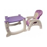 Scaun de masa copii Arti 505 - Violet
