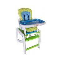 Scaun de masa copii Arti Swing - Albastru