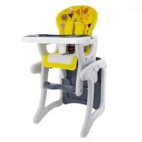 Scaun de masa copii EuroBaby - Galben