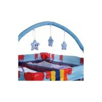 Tarc de joaca Arti LuxuryGo - Light Blue/Navy Blue