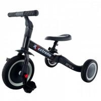 Tricicleta 4 in 1 Extreme Eurobaby TR001 - Negru