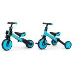 Tricicleta copii transformabila 3 in 1 Optimus Blue