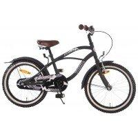 Bicicleta copii Black Cruiser EandL Cycles 18 inch