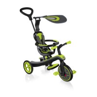 Tricicleta Globber Explorer 4 in 1 verde