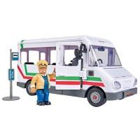 Autobuz Pompierul Sam cu figurina Trevor Simba