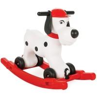 Balansoar pentru copii Pilsan Cute Dog white