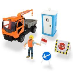 Automacara constructii cu sunete Dickie Toys
