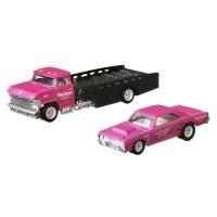Camion Hot Wheels Mattel Car Culture Horizon Hauler cu masina Dodge Dart