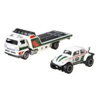 Camion Hot Wheels Mattel Car Culture Wide Open cu masina Volkswagen Baja Bug