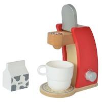 Jucarie din lemn Eichhorn aparat de cafea