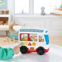 Jucarie bebelusi Fisher-Price - Autobuzul cu sunete in limba romana