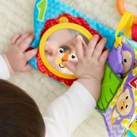 Jucarie Fisher Price Newborn Carticica cu numere si activitati