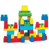 Cuburi de construit Fisher-Price Mega Blocks 60 piese