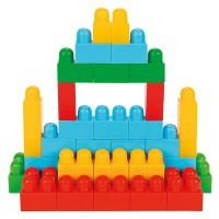 Cuburi de construit in cutie Super Blocks 95 piese