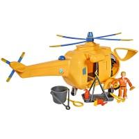 Jucarie Simba Elicopter Fireman Sam Wallaby 2 cu figurine si accesorii