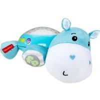 Lampa de veghe plus Fisher Price Newborn Hipopotam albastru