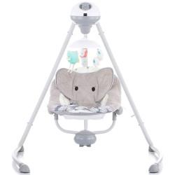 Leagan electric bebelusi Chipolino Aida Gray Dumbo