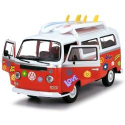 Masina Dickie Toys Volkswagen Surfer Van cu accesorii