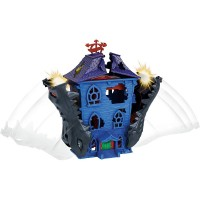 Pista de masini Hot Wheels Mattel Croc Mansion Attack cu masinuta
