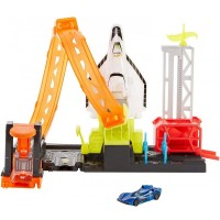 Pista de masini Hot Wheels Mattel Super Rocket Blast-off cu masinuta