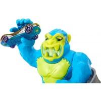 Pista de masini Hot Wheels Mattel Toxic Ape Attack cu masinuta