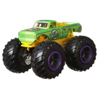 Set Hot Wheels Mattel Monster Trucks Demolition Doubles A51 Patrol vs Test Subject