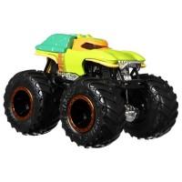 Set masinute Hot Wheels Monster Trucks Michelangelo vs Donatello