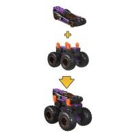 Set masinute Hot Wheels Monster Trucks Monster Maker GWW16
