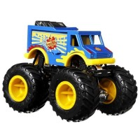 Set masinute Hot Wheels Monster Trucks Monster Patriot vs Tuon Ot Sriracha
