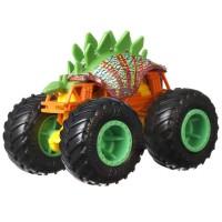 Set masinute Hot Wheels Monster Trucks Motosaurus vs Mega Wrex