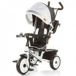 Tricicleta Chipolino Sportico White Black