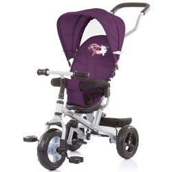 Tricicleta cu copertina si sezut reversibil Chipolino MaxRide Purple