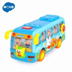 Autobuz dansator cu sunete si lumini Hola Toys