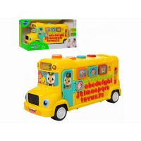 Autobuz scolar educativ cu sunete si lumini