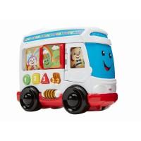 Autobuz cu sunete limba romana Fisher Price