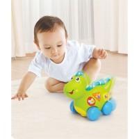 Jucarie interactiva Baby Dinozaur cu miscari, melodii si lumini