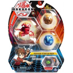Set de joaca Bakugan Start Pyrus Turtonium