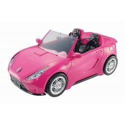 Masina decapotabila a papusii Barbie