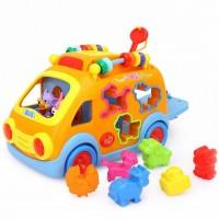 Camioneta cu forme, sunete si lumini Hola Toys