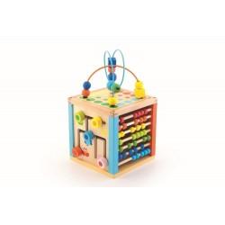 Cub educativ mare din lemn Trefl