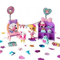 Set papusa si accesorii Pop Party Teenies