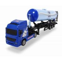 Camion cisterna cu remorca Dickie 42 cm