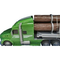 Camion transport busteni Dickie 42 cm