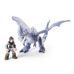 Figurina dragon cu calaret Heather si Windshear Dragons