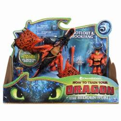 Set Dragons 3 Hookfang si Viking Snotlout