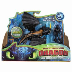 Figurine Dragons 3 Stirbul si Viking Hiccup